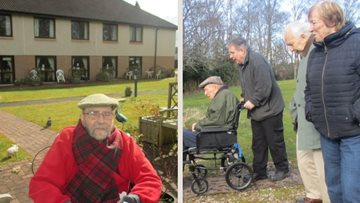 A spot of fresh air for Perth care home Residents