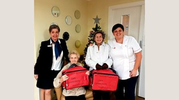 Yoker care home embraces Red Bag Initiative