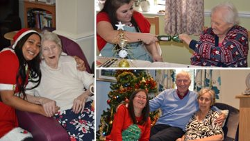 White Gables gets in the festive spirit with Christmas celebrations