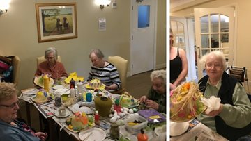 Eggs-ceptional Easter competition at Penrith care home