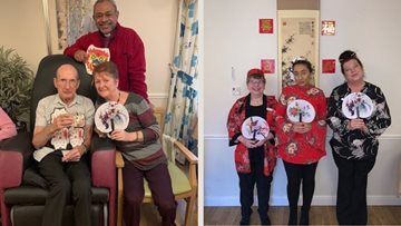 Chinese New Year at Stafford care home
