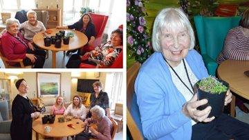 Fun-filled afternoon at Ayr care home