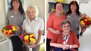 Volunteers Recognised for good work at care home during Volunteers Week