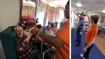 Wild West afternoon at Blackburn care home