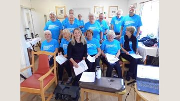 Eastbourne choir visit Coppice Court