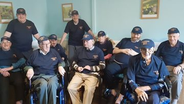 Stirling care home forms Men's Shed group