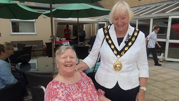 Local Care Home stages annual summer fete