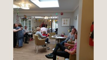 Walton-on-Thames care home Residents enjoy summer celebration