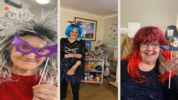 Luton Residents enjoy tricks and treats for Halloween