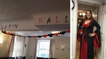 Spooktacular celebrations at Coventry care home