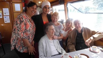 All aboard! Nottingham care home Residents set sail on summer cruise