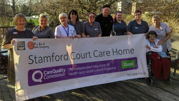 Stalybridge care home enjoys success in CQC Report