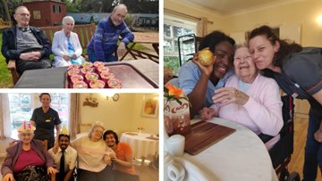 Easter celebrations at Middlesex care home