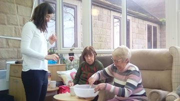 Activities prove a success at Belper care home