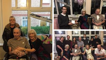 Couple celebrates 60 years of marriage at Dunstable care home