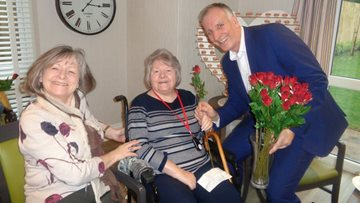 St Clare's Court Celebrate Valentine's Day in style