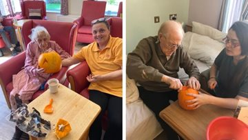 Residents enjoy terrifyingly good party as Coventry care home celebrates Halloween