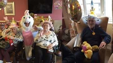 Easter Celebrations at Plas Cwm Carw