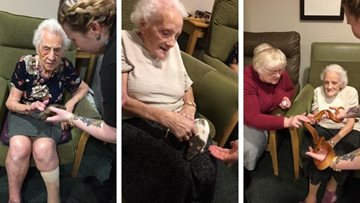 Holmfirth care home enjoys animalistic adventure