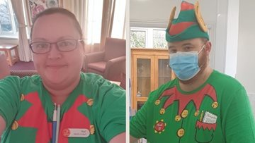 Somerset Colleagues organise 'Elf Day' for Residents