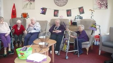 Spooktacular celebrations as Wallyford care home hosts Halloween party