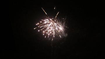 Firework display doesn't disappoint at Perth care home