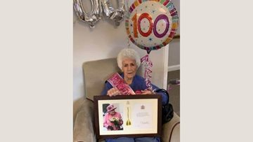 Spennymoor care home Resident celebrates 100th birthday with family