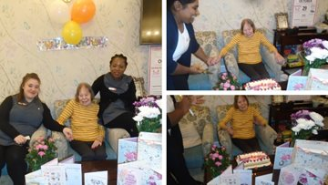 Resident celebrates 94th birthday at Mayford care home