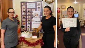 Christmas bake off is a success at Coventry care home