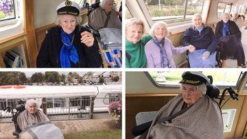 Henley-on-Thames care home Residents enjoy last boat trip of the year