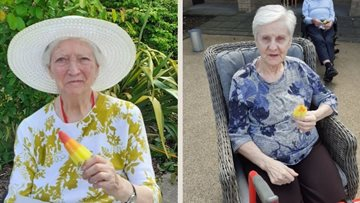 Sun shines for Residents at Stirling care home