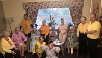 Appleton Lodge shows its support for Children in Need 2018