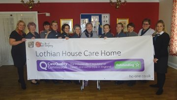 HC-One's Lothian House enjoys 'Outstanding' success in latest CQC report
