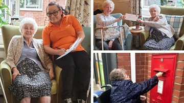 Pen pal project connects Doncaster care home Residents with new Scottish friends