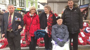 Touching Remembrance Service for Aberdare care home Residents