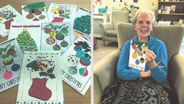 Brixworth Residents receive surprise Christmas cards from Santa and Children in France