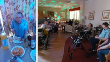 Lostock Gralam care home hosts Northern Soul night