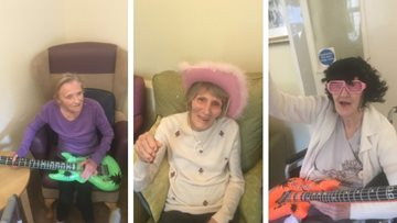 Residents are 'all shook up' at Oldham care home