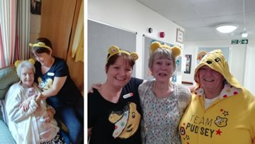 Newcastle care home supports Children in Need