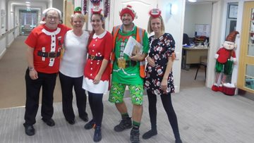 Foxton Court Residents get in the festive spirit with Christmas celebrations