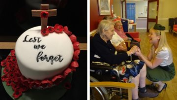 Willow Court hosts special Remembrance Day