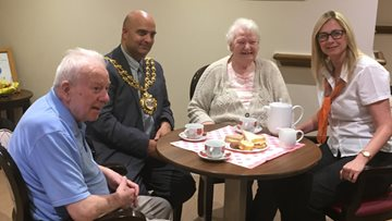 Oldham HC One Care Home Opens Doors To Mayor And Community