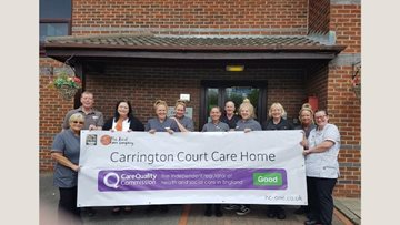 Hindley Care Home Enjoys Success in CQC Report