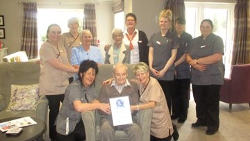 Peterlee Care Home rated Top 20 home in County Durham