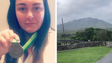 Newton Aycliffe care home worker completes Three Peak Challenge