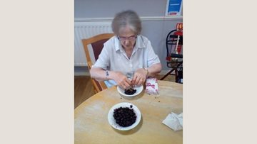 Glasgow care home Residents get experimental with jam making afternoon