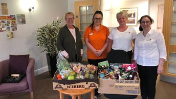Morpeth care home's festival brings community together to celebrate autumn
