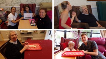 Autumn celebrations at Uxbridge care home