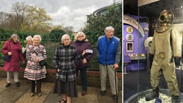 Residents travel back in time with a trip to Sunderland Museum