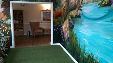 Carntyne care home create a calming oasis for Residents